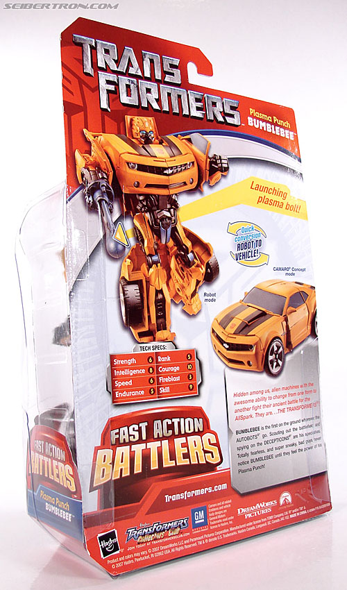 Transformers (2007) Plasma Punch Bumblebee (Image #11 of 72)