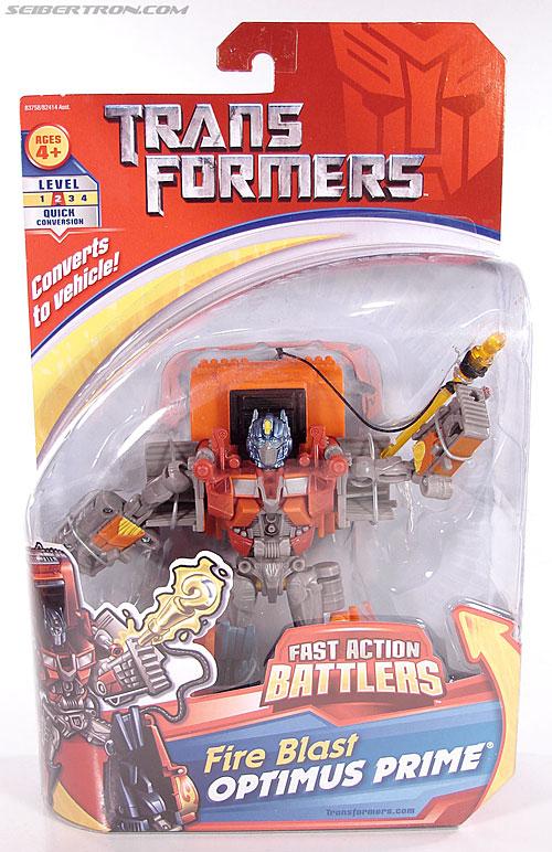 Transformers (2007) Fire Blast Optimus Prime (Image #1 of 80)
