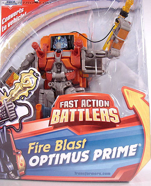 Transformers (2007) Fire Blast Optimus Prime (Image #2 of 80)