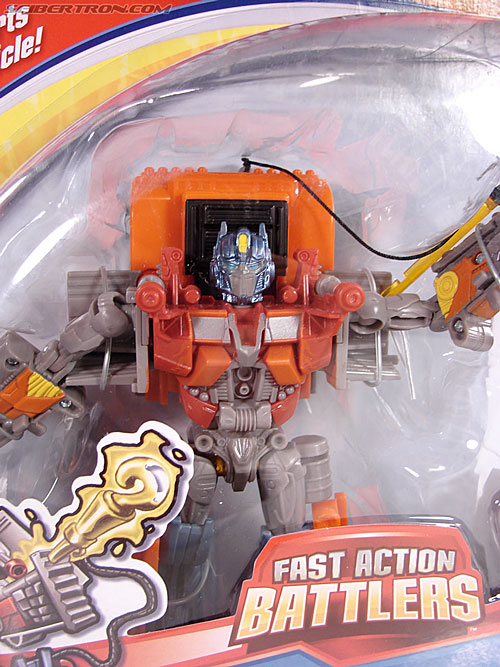 Transformers (2007) Fire Blast Optimus Prime (Image #3 of 80)