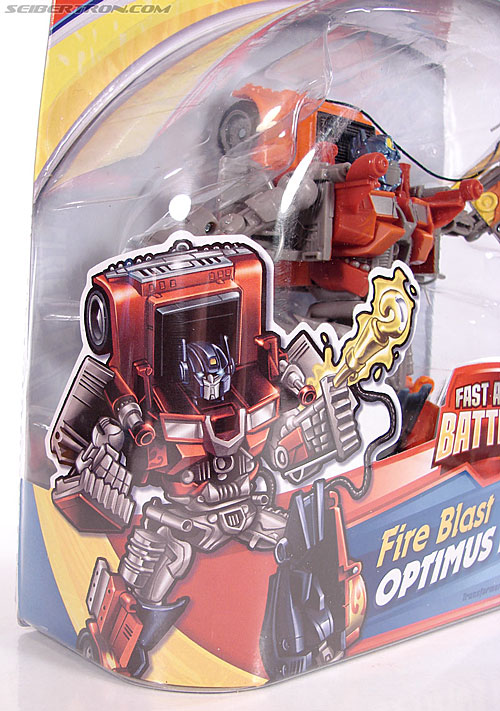 Transformers (2007) Fire Blast Optimus Prime (Image #4 of 80)