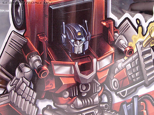 Transformers (2007) Fire Blast Optimus Prime (Image #5 of 80)