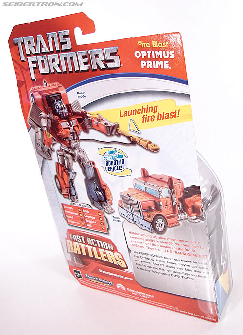Transformers (2007) Fire Blast Optimus Prime (Image #7 of 80)