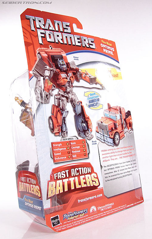 Transformers (2007) Fire Blast Optimus Prime (Image #9 of 80)
