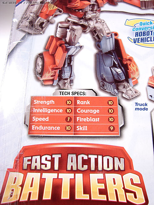 Transformers (2007) Fire Blast Optimus Prime (Image #10 of 80)