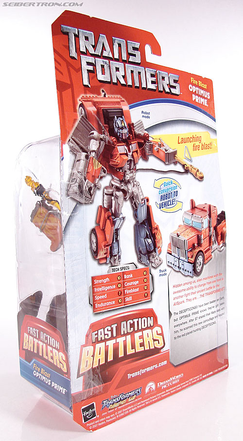 Transformers (2007) Fire Blast Optimus Prime (Image #12 of 80)