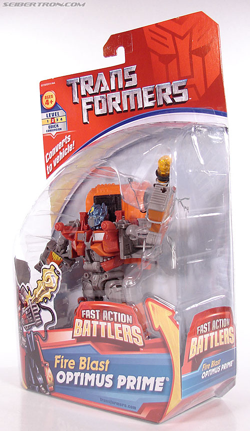 Transformers (2007) Fire Blast Optimus Prime (Image #13 of 80)