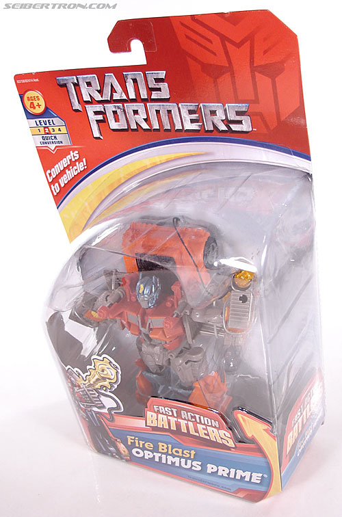 Transformers (2007) Fire Blast Optimus Prime (Image #14 of 80)
