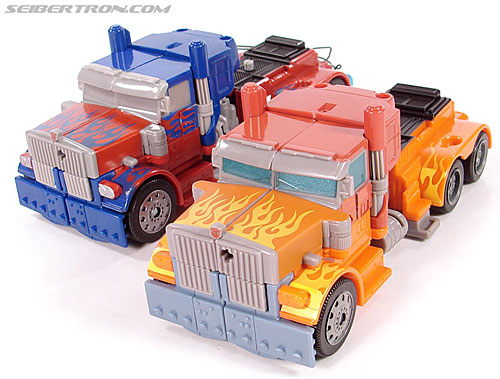 Transformers (2007) Fire Blast Optimus Prime (Image #31 of 80)