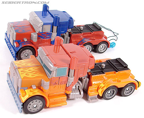 Transformers (2007) Fire Blast Optimus Prime (Image #32 of 80)