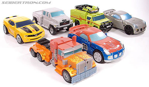 Transformers (2007) Fire Blast Optimus Prime (Image #34 of 80)