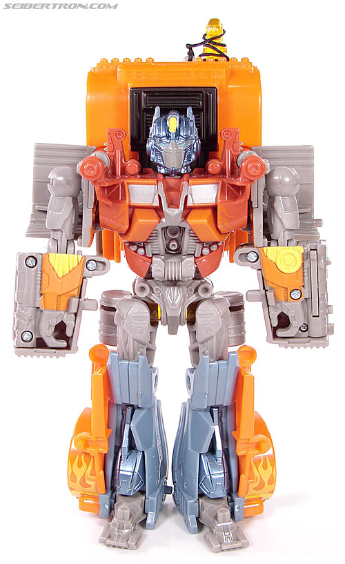 Transformers (2007) Fire Blast Optimus Prime (Image #35 of 80)