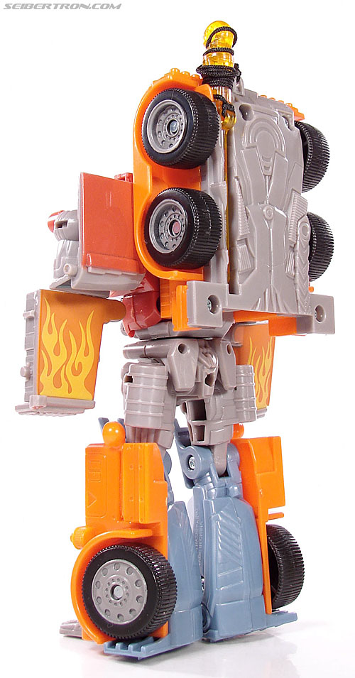 Transformers (2007) Fire Blast Optimus Prime (Image #46 of 80)
