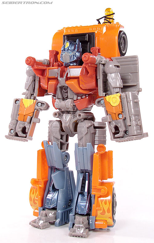Transformers (2007) Fire Blast Optimus Prime (Image #48 of 80)