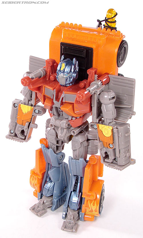 Transformers (2007) Fire Blast Optimus Prime (Image #49 of 80)
