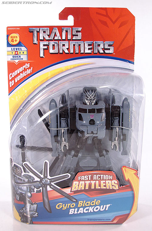 Transformers (2007) Gyro Blade Blackout (Image #1 of 73)