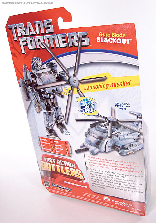 Transformers (2007) Gyro Blade Blackout (Image #7 of 73)