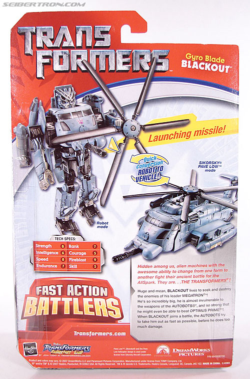 Transformers (2007) Gyro Blade Blackout (Image #8 of 73)