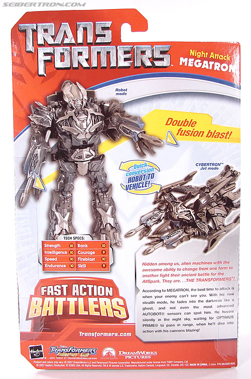 Transformers (2007) Night Attack Megatron (Image #7 of 62)