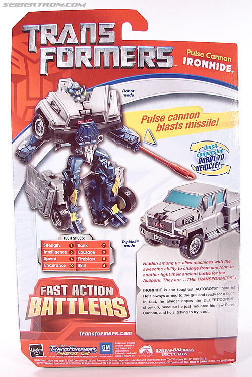 Transformers (2007) Pulse Cannon Ironhide (Image #8 of 61)