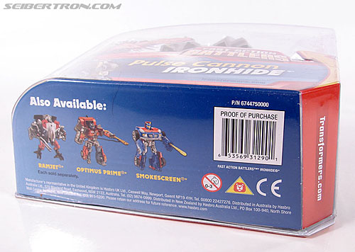 Transformers (2007) Pulse Cannon Ironhide (Image #12 of 61)