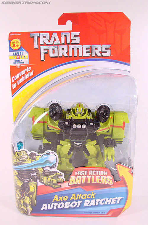 Transformers (2007) Axe Attack Ratchet (Image #1 of 70)