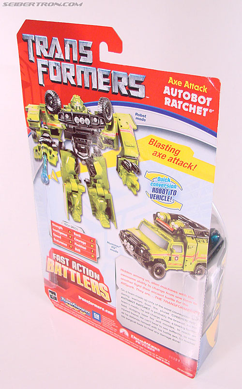 Transformers (2007) Axe Attack Ratchet (Image #7 of 70)
