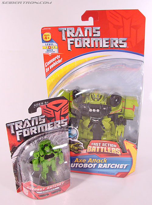 Transformers (2007) Axe Attack Ratchet (Image #16 of 70)
