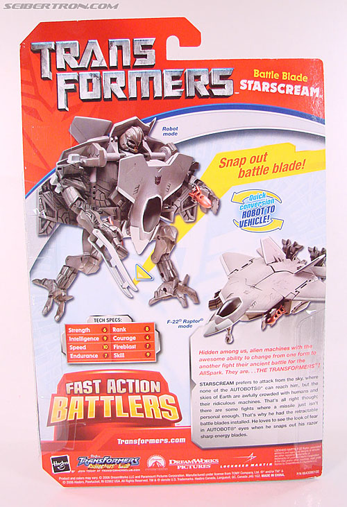 Transformers (2007) Battle Blade Starscream (Image #10 of 75)