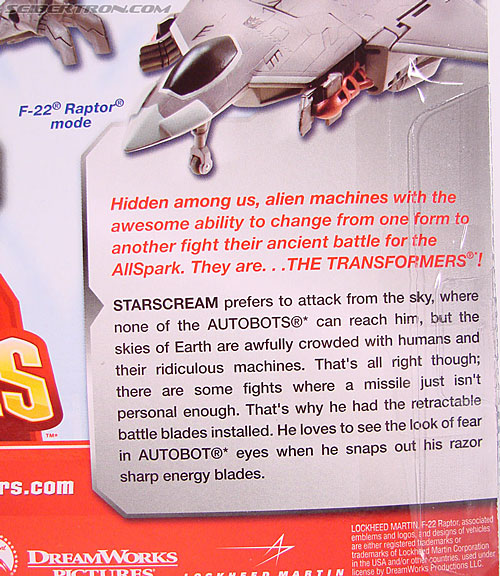 Transformers (2007) Battle Blade Starscream (Image #12 of 75)