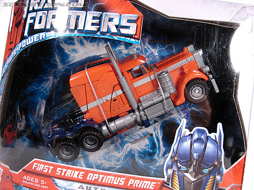 Transformers (2007) First Strike Optimus Prime (Image #4 of 75)