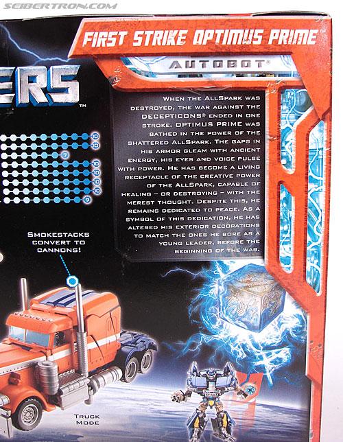 Transformers (2007) First Strike Optimus Prime (Image #7 of 75)