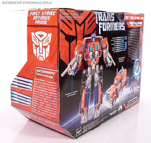 Transformers (2007) First Strike Optimus Prime (Image #9 of 75)