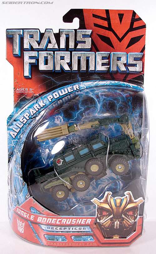 Transformers (2007) Jungle Bonecrusher (Image #1 of 79)