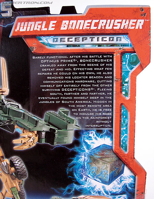 Transformers (2007) Jungle Bonecrusher (Image #6 of 79)