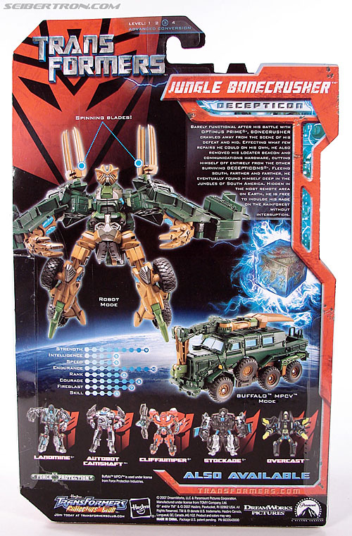 Transformers (2007) Jungle Bonecrusher (Image #7 of 79)