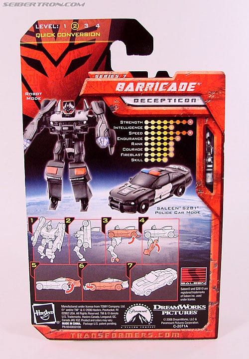 Transformers (2007) Barricade (Image #5 of 64)