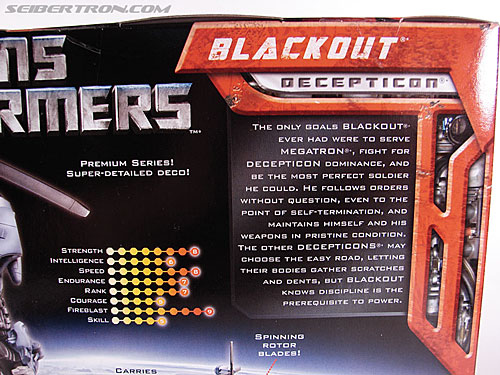 Transformers (2007) Premium Blackout (Image #8 of 177)