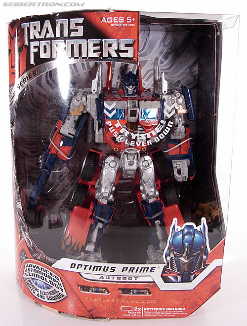 Transformers (2007) Premium Optimus Prime (Image #1 of 151)