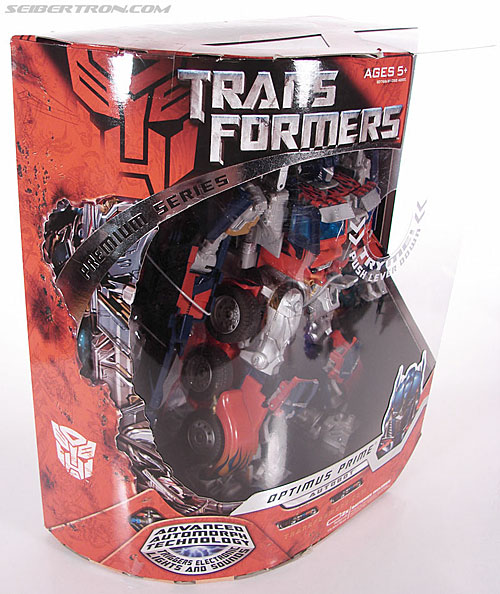 Transformers (2007) Premium Optimus Prime (Image #4 of 151)