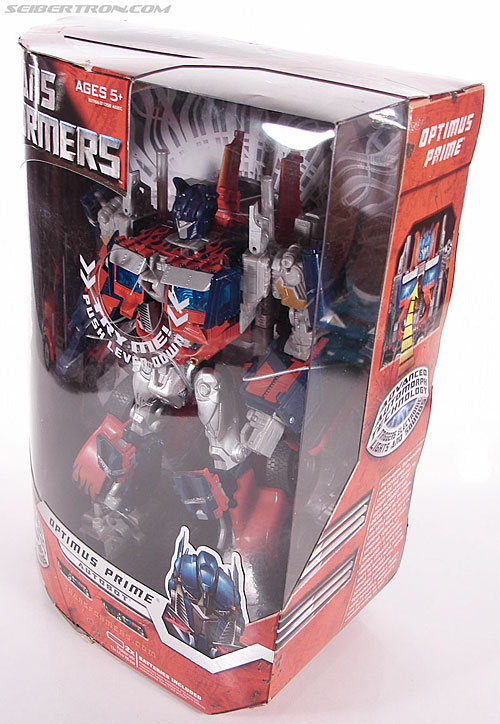 Transformers (2007) Premium Optimus Prime (Image #16 of 151)