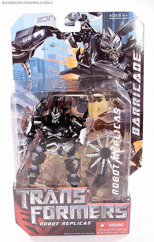 Transformers (2007) Barricade (Robot Replicas) (Image #1 of 63)
