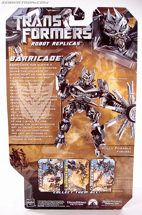 Transformers (2007) Barricade (Robot Replicas) (Image #5 of 63)