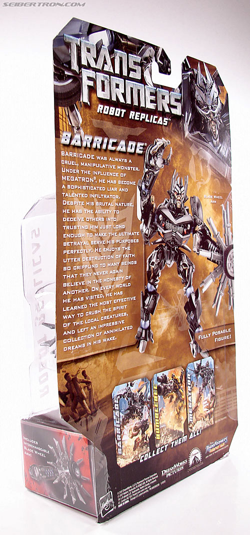 Transformers (2007) Barricade (Robot Replicas) (Image #8 of 63)