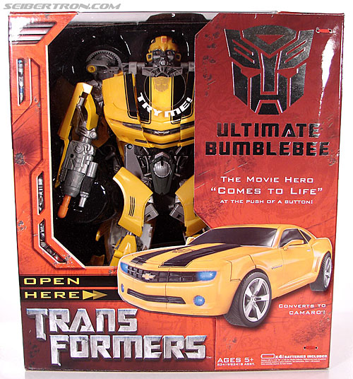 Transformers (2007) Ultimate Bumblebee (Image #1 of 95)