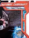 Transformers (2007) Camshaft - Image #7 of 80