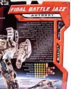 Transformers (2007) Final Battle Jazz - Image #5 of 90