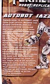 Transformers (2007) Jazz (Robot Replicas) - Image #9 of 57
