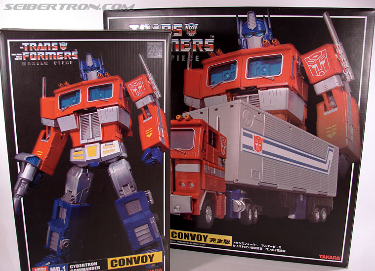 Transformers Masterpiece Optimus Prime (MP-01) (Convoy (MP-01)) (Image #19 of 109)