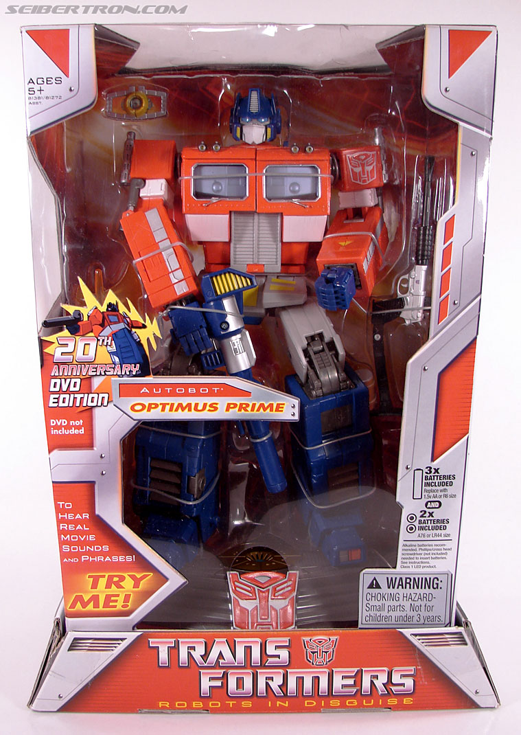 Transformers Masterpiece Optimus Prime (20th Anniversary DVD) (Image #1 of 183)